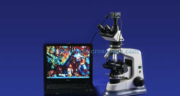 40X – 630X Compound Trinocular Polarizing Geological Microscope W/ Case + Mineral Slides Set Usb Jpg Image Digital Camera 3 Mpixel Still Images + Video