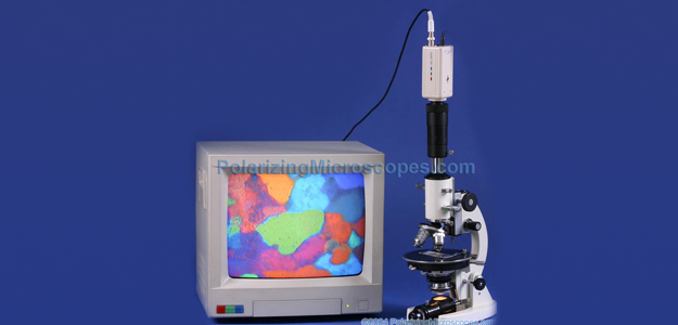 40X – 400X Compound Monocular Polarizing Geological Microscope W/ Bertrand Lens